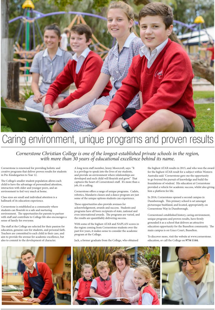 Article for Busselton Buzz